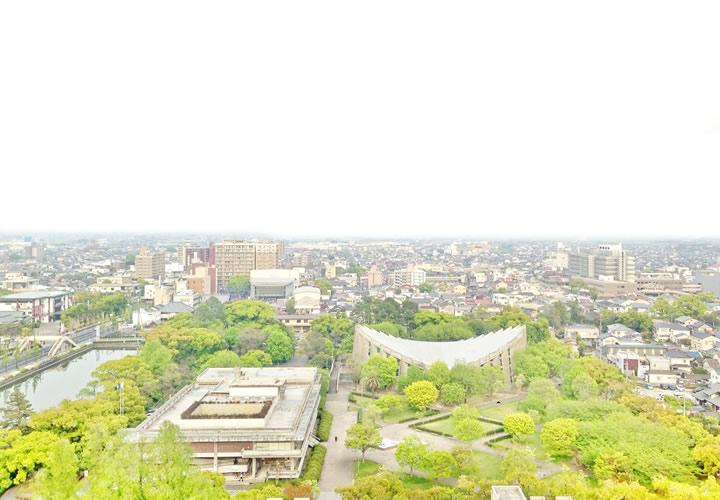 佐賀県庁・展望台からの風景
