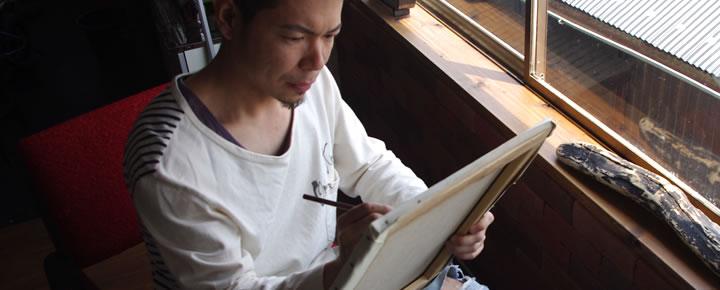 山口芳水 シロクロ書道教室