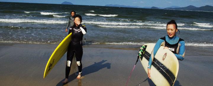 サーフィンのファンになりました