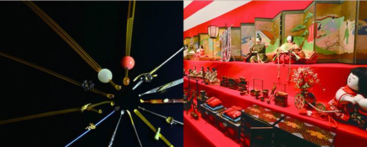 徴古館「鍋島家の雛祭り」・特別展示「栄子さまの髪飾り」