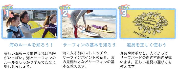 海のルールを知ろう!サーフィンの基本を知ろう!道具の使い方を知ろう!