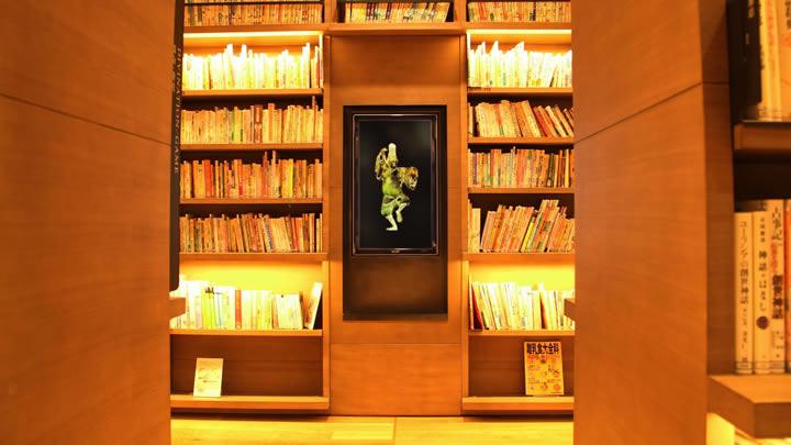 図書館で踊る人 / The Dancing Person in the Library