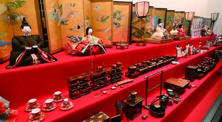 鍋島家のひなまつり大雛壇