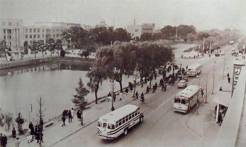 昭和38年の佐賀市