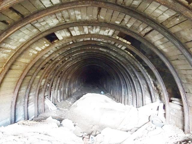 「杵島炭鉱鉄道隊道(トンネル)跡」佐賀大町に炭鉱の遺構が残っていました!