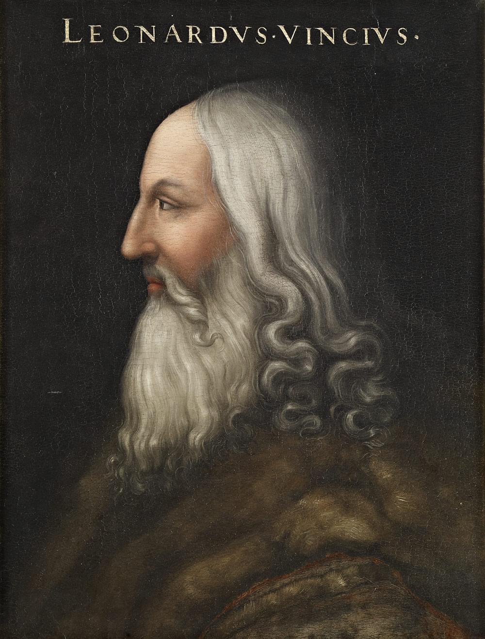 ㈰クリストーファノ・デッラルティッシモ 《レオナルド・ダ・ヴィンチの肖像》