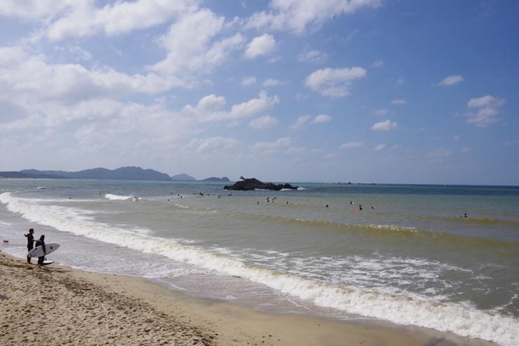 糸島 野北サーフポイント