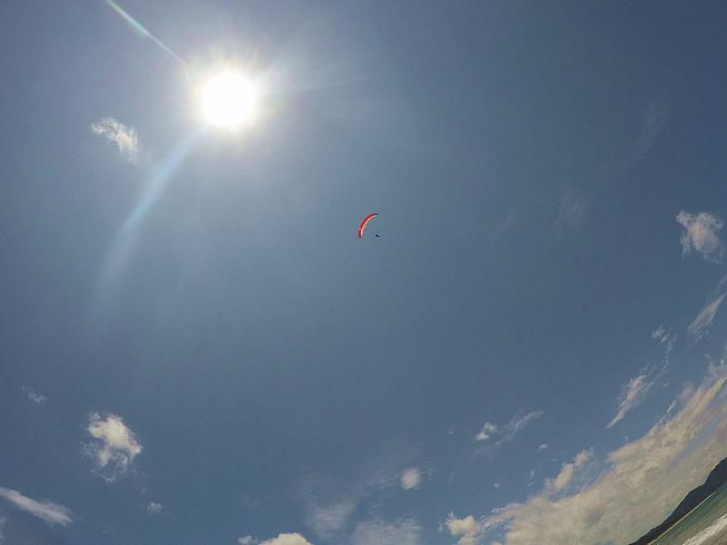 糸島パラグライダー