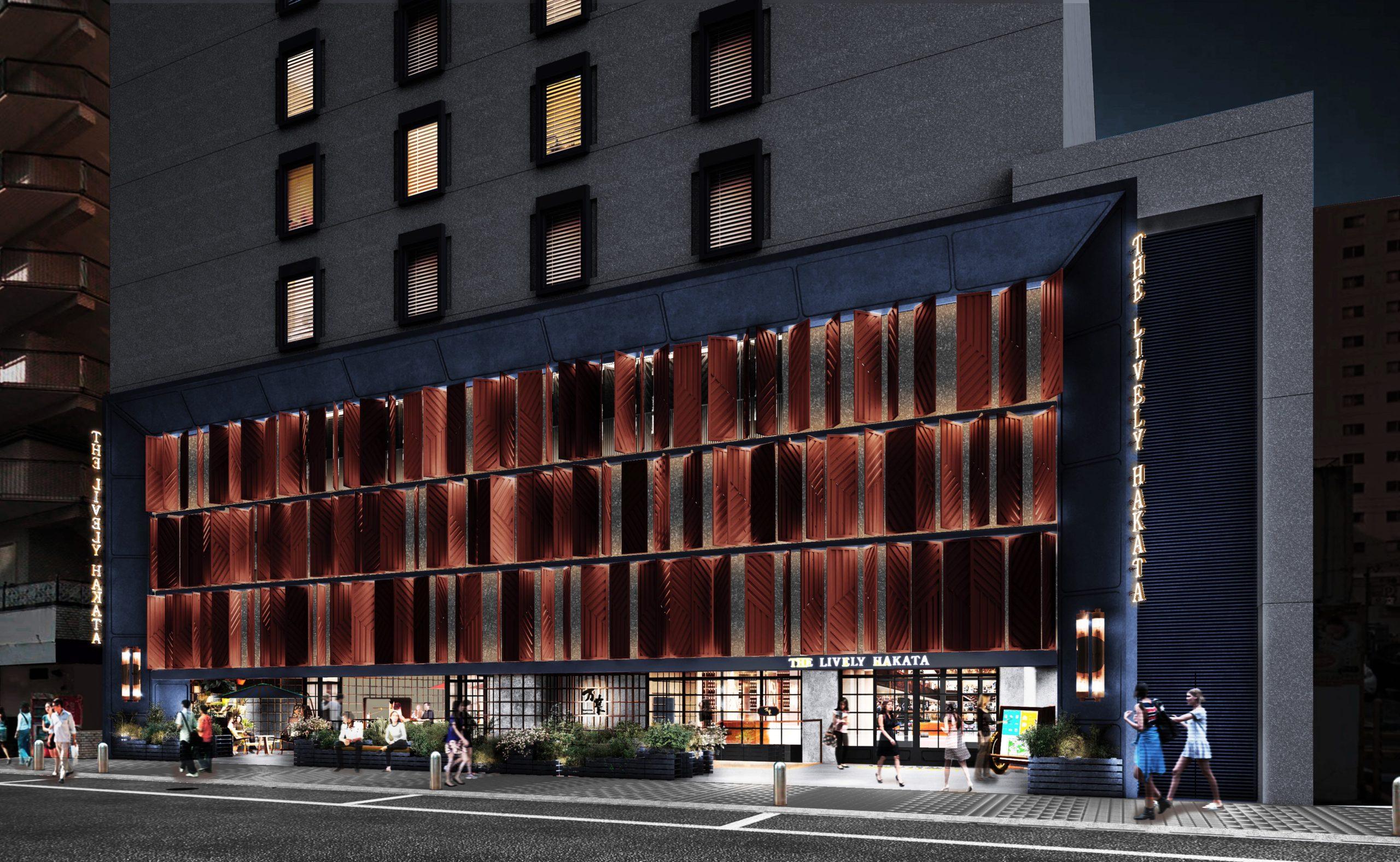 中洲の LIVELY ではじめての「ライフスタイルホテル」体験を