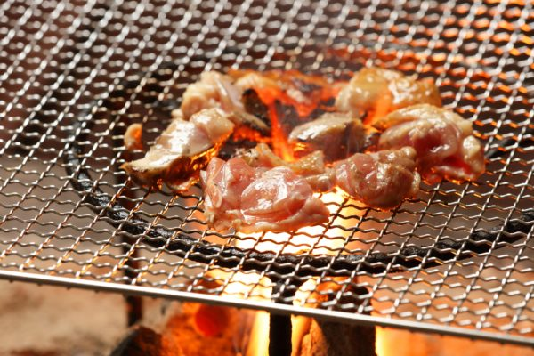 肥後のうまかあか鶏の炭火焼き