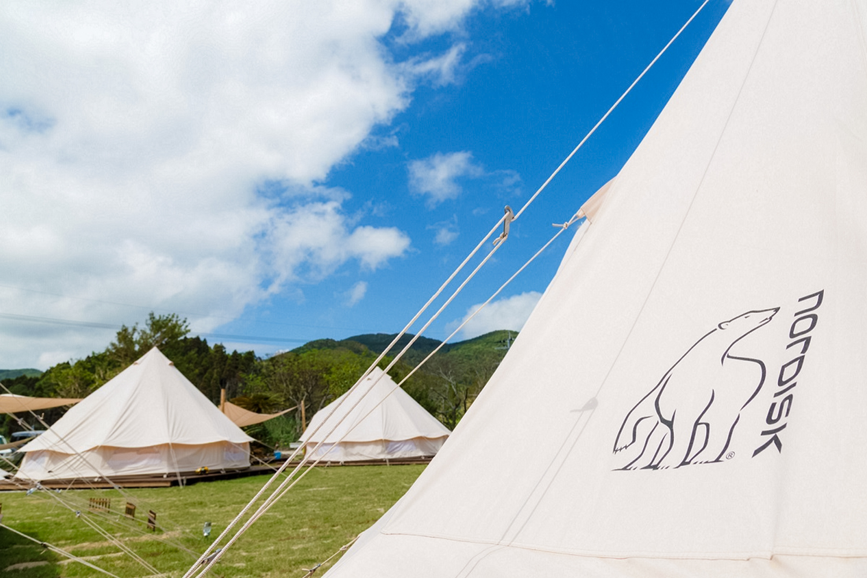 【長崎】五島の美しい大自然で極上のグランピング体験「Nordisk Village Goto Islands」